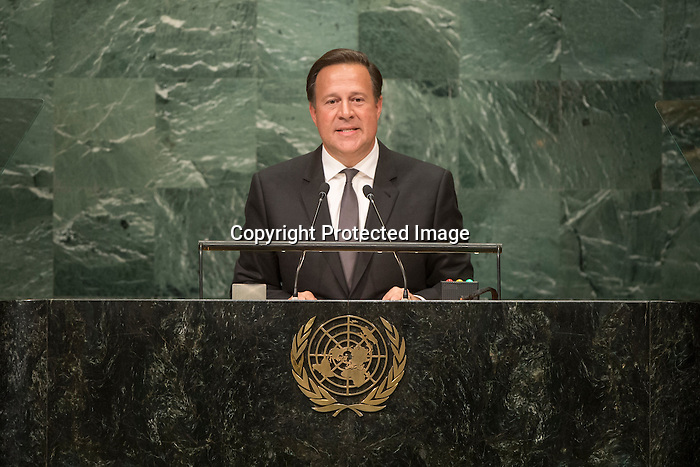 Panama<br /> H.E. Mr. Juan Carlos Varela Rodríguez<br /> President<br /> <br /> General Assembly Seventy-first session: Opening of the General Debate 71 United Nations, New York