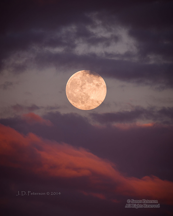 Super Moon over Grand Canyon