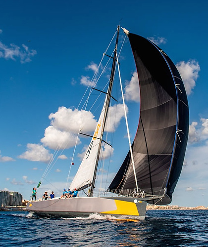 round the world races veteran Jean-Pierre Dick's JP54 The Kid
