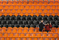 Spectators gather at Underhill - Barnet vs Peterborough United - Coca Cola League Two at Underhill - 04/03/08 - MANDATORY CREDIT: Gavin Ellis/TGSPHOTO. Self-Billing applies where appropriate. NO UNPAID USE. Tel: 0845 094 6026