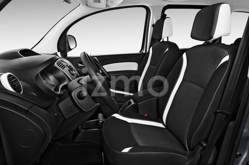 Front seat view of a 2013 - 2014 Renault Kangoo eXtrem Mini MPV.