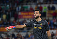 Calcio, Serie A: AS Roma vs Udinese, Olympic stadium, September 23, 2021.<br /> Roma's goalkeeper Rui Patricio reacts during the Italian Serie A football match between Roma and Udinese at Rome's Olympic stadium, on September 23, 2021.<br /> UPDATE IMAGES PRESS/Isabella  Bonotto