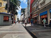 Campinas (SP), 05/02/2021 - Plano São Paulo-SP - Movimentação no centro de Campinas, interior de São Paulo, nesta sexta-feira (05). O governo do estado anunciou que a cidade fará parte da fase amarela do Plano São Paulo.