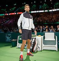 Rotterdam, The Netherlands, February 14, 2016,  ABNAMROWTT, Martin Klizan (SVK) <br /> Photo: Tennisimages/Henk Koster