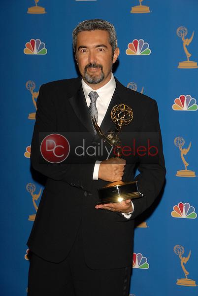 Jon Cassar<br />in the Press Room at the 58th Annual Primetime Emmy Awards. The Shrine Auditorium, Los Angeles, CA. 08-27-06<br />Scott Kirkland/DailyCeleb.com 818-249-4998
