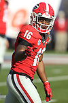 December 30, 2016: Georgia Bulldog wide receiver Isaiah McKenzie (16) in the second quarter of the AutoZone Liberty Bowl at Liberty Bowl Memorial Stadium in Memphis, Tennessee. ©Justin Manning/Eclipse Sportswire/Cal Sport Media