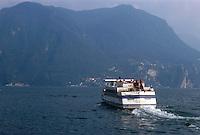 - tourist boat on Lugano lake....- battello turistico sul lago di Lugano
