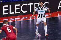 9th October 2020; Palau Blaugrana, Barcelona, Catalonia, Spain; UEFA Futsal Champions League Finals; Mrucia FS versus MFK Tyumen;   Bruno Taffy
