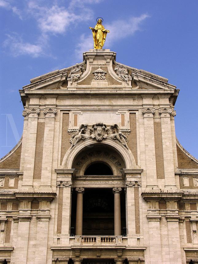 Basilica Santa Maria degli Angeli Assisi Ital