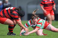 210417 Wellington Women's Club Rugby - Poneke v HOBM