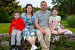 The Healy family enjoying a stroll in Muckross Gardens on Sunday, l to r: Liam, Katie, Ger and Maggie Healy.