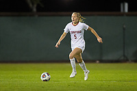 STANFORD, CA - NOVEMBER 22: Stanford, CA - November 22, 2019: Sierra Enge at Laird Q. Cagan Stadium. The Stanford Cardinal defeated Hofstra 4-0 in the second round of the NCAA tournament. during a game between Hofstra and Stanford Soccer W at Laird Q. Cagan on November 22, 2019 in Stanford, California.