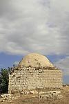 Israel, Sharon region, Sheikh's Tomb north of Migdal Afek overlooking the city of Rosh Ha'ayin