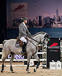 Henrik von Eckermann of Germany riding Gotha FRH in action during the Longines Grand Prix as part of the Longines Hong Kong Masters on 15 February 2015, at the Asia World Expo, outskirts Hong Kong, China. Photo by Victor Fraile / Power Sport Images