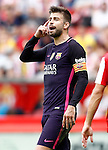 FC Barcelona's Gerard Pique during La Liga match. September 24,2016. (ALTERPHOTOS/Acero)