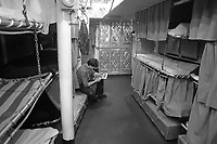 - Italian Navy, Vittorio Veneto cruiser, the crew quarters (May 1984)<br /> <br /> - Marina Militare Italiana, incrociatore Vittorio Veneto, alloggi dell'equipaggio (Maggio 1984)