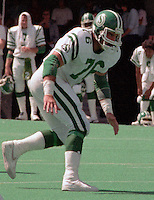 Rick Mohr Saskatchewan Roughriders 1984. Photo F. Scott Grant