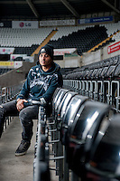 Thursday 22 January 2015<br /> Pictured: Kyle Naughton<br /> Re: Kyle Naughton Signs for Swansea City FC