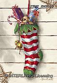 Marcello, CHRISTMAS SYMBOLS, WEIHNACHTEN SYMBOLE, NAVIDAD SÍMBOLOS, paintings+++++,ITMCXM2083,#XX# ,Christmas stockings