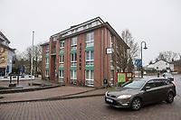 """NUR FUER REDAKTIONELLE ZWECKE!<br /> In der brandenburgischen Ortschaft Gruenheide plant der Automobilhersteller Tesla die Errichtung einer sog. """"Gigafactory"""".<br /> Im Bild: Das Rahthaus von Gruenheide.<br /> 25.1.2020, Gruenheide<br /> Copyright: Christian-Ditsch.de<br /> [NUR FUER REDAKTIONELLE ZWECKE! Werbung nur auf Anfrage beim Fotografen. Inhaltsveraendernde Manipulation des Fotos nur nach ausdruecklicher Genehmigung des Fotografen. Vereinbarungen ueber Abtretung von Persoenlichkeitsrechten/Model Release der abgebildeten Person/Personen liegen nicht vor. NO MODEL RELEASE! Don't publish without copyright Christian-Ditsch.de, Veroeffentlichung nur mit Fotografennennung, sowie gegen Honorar, MwSt. und Beleg. Konto: I N G - D i B a, IBAN DE58500105175400192269, BIC INGDDEFFXXX, Kontakt: post@christian-ditsch.de<br /> Bei der Bearbeitung der Dateiinformationen darf die Urheberkennzeichnung in den EXIF- und  IPTC-Daten nicht entfernt werden, diese sind in digitalen Medien nach §95c UrhG rechtlich geschuetzt. Der Urhebervermerk wird gemaess §13 UrhG verlangt.]"""
