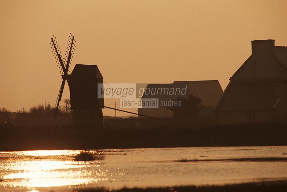 Europe/France/Bretagne/29/Finistère/Ile d'Ouessant: Le vieux moulin de KARAES