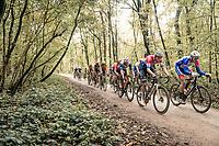 Mathieu Van der Poel (NED/Alpecin-Fenix) over the Plugstreets<br /> <br /> 82nd Gent-Wevelgem in Flanders Fields 2020 (1.UWT)<br /> 1 day race from Ieper to Wevelgem (232km)<br /> <br /> ©kramon
