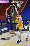 League ACB-ENDESA 2020/2021 - Game: 13.<br /> FC Barcelona Lassa vs Herbalife Gran Canaria: 91-63.<br /> Sergi Martinez vs John Shurna.