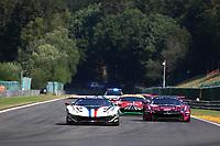 #88 AF CORSE (ITA) FERRARI 488 GTE EVO LMGTE FRANÇOIS PERRODO (FRA) EMMANUEL COLLARD (FRA) HARRISON NEWEY (GBR)