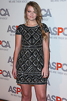 BEL AIR, CA, USA - OCTOBER 22: Kathryn Dean arrives at the 2014 ASPCA Compassion Award Dinner Gala held at a Private Residence on October 22, 2014 in Bel Air, California, United States. (Photo by Xavier Collin/Celebrity Monitor)