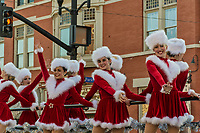 Christmas parade and 5K run in Uptown Westerville Ohio.