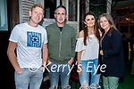 Enjoying the evening in Benners on Saturday, l to r: Gary Normoyle, Kieran O'Sullivan, Carol Fitzgerald and Noreen O'Sullivan.