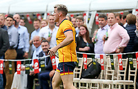 Thursday 9th September 20218 <br /> <br /> Craig Gilroy during the pre-season friendly between Saracens and Ulster Rugby at the Honourable Artillery Company Grounds, Armoury House, London, England. Photo by John Dickson/Dicksondigital