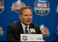 BCS National Championship Head Coaches Press Conference January 08 2012