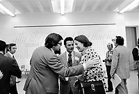 MONTREAL, CANADA - File Photo - Therese Lavoie-Roux at  Montreal School Board Election, July 18, 1973.<br /> <br /> File Photo : Agence Quebec Presse - Alain Renaud