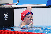 28th August 2021; Tokyo, Japan; Maisie Summers-Newton (GBR), Swimming : Women's 100m Breaststroke SB6 Final during the Tokyo 2020 Paralympic Games at the Tokyo Aquatics Centre in Tokyo, Japan.