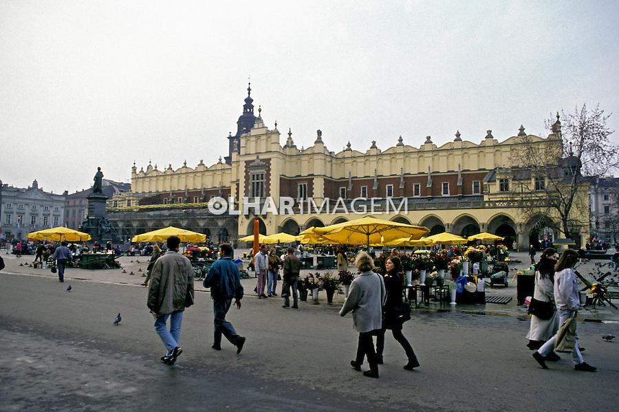 Cidade de Cracóvia. Polônia. 1994. Foto de João Caldas.