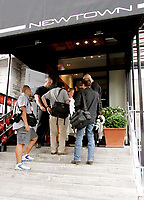 Some medias are are beeing deeing access because the Press Conference is a private event .<br /> The Press Conference was held at Villeneuve's restaureant NEWTON on Crescent Street in  Montreal.