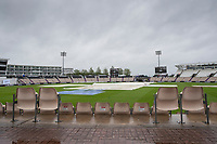 A bleak view at the Hampshire Bowl on day 4 of the WTC Final during India vs New Zealand, ICC World Test Championship Final Cricket at The Hampshire Bowl on 21st June 2021