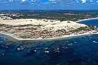 Aérea das dunas de Genipabu, Natal. Rio Grande do Norte. 1997. Foto de Juca Martins.