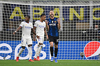 Milan Skriniar of FC Internazionale during the Uefa Champions League group D football match between FC Internazionale and Real Madrid at San Siro stadium in Milano (Italy), September 15th, 2021. Photo Andrea Staccioli / Insidefoto