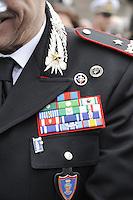 - Italian Army, senior officer of Carabinieri during a military ceremony....- Esercito Italiano, alto ufficiale dei Carabinieri durante una cerimonia militare....