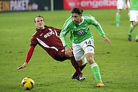 Ricardo Rodriguez (Wolfsburg) setzt sich durch