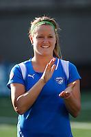 Jennifer Nobis (19) of the Boston Breakers. Sky Blue FC defeated the Boston Breakers 2-1 during a WPS regular season match at Harvard Stadium in Boston, MA, on July 12, 2009.