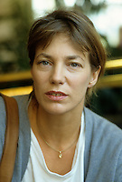 Montreal (Qc) CANADA - File Photo - August 1987 - Jane Birkin pose for exclusive photo at Montreal World Film Festival.<br /> <br /> -Photo (c)  Images Distribution