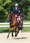 12 July 2009: Bruce (Buck) Davidson Jr. and Ballynoecastle RM after coming in 2nd place in the CIC 3* Maui Jim Horse Trials at Lamplight Equestrian Center in Wayne, Illinois.