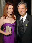 Heather Pray and Martin Schleuse at the Houston Grand Opera's Opening Night dinner Friday Oct. 23,2009. (Dave Rossman/For the Chronicle)