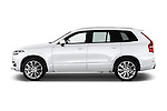 Car Driver side profile view of a 2015 Volvo XC90 Inscription7 5 Door SUV Side View
