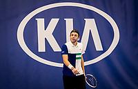 Amstelveen, Netherlands, 16  December, 2020, National Tennis Center, NTC, NK Indoor, National  Indoor Tennis Championships, :  Tallon Griekspoor  (NED) <br /> Photo: Henk Koster/tennisimages.com