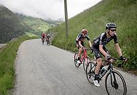 Martijn Tusveld (NED/DSM) up the Col du Pré (HC/1748m/12.6km@7.7%)<br /> <br /> 73rd Critérium du Dauphiné 2021 (2.UWT)<br /> Stage 7 from Saint-Martin-le-Vinoux to La Plagne (171km)<br /> <br /> ©kramon