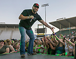 Chris Janson performs during the Reno Rodeo Concert on Wednesday night, June 19, 2019.